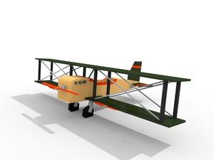 Avioneta cinema 4D