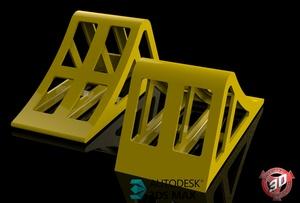 3D Wheel Blocks
