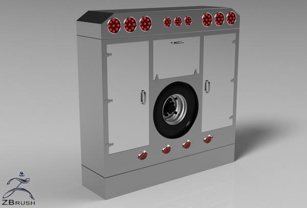 3D Backcabin Cabinets