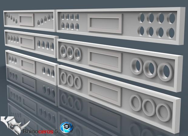 3D backpanel pack