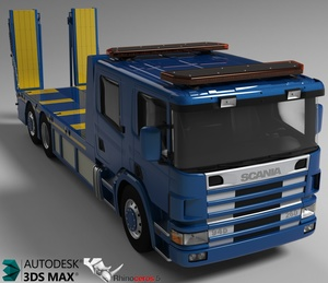 3D Scania Recovery Model