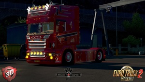 ETS2 Scania 4x2 R500 V8 Holland