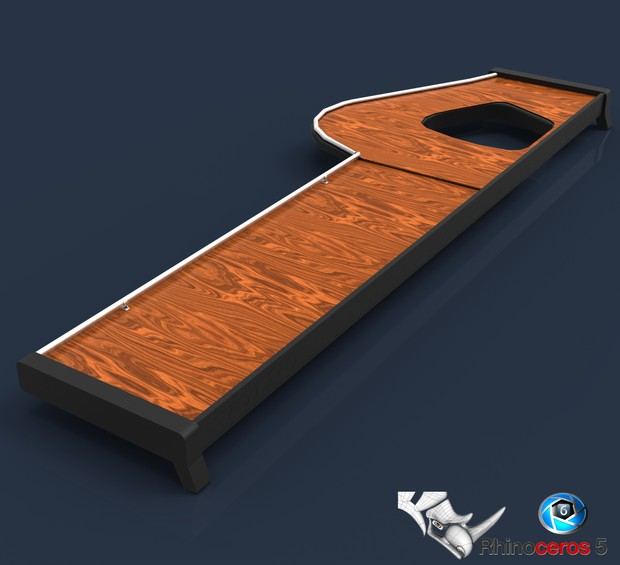 3D Table For Volvo Model