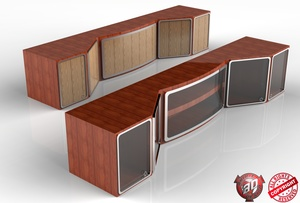 3D Interior Cabinets Pack