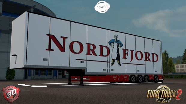 ETS2 Ekeri 4 Axled Trailer V1