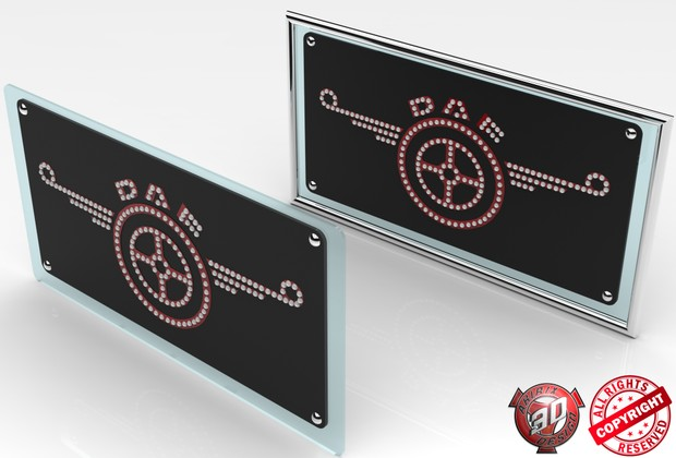 3D Daf Interior Glass Panels Pack
