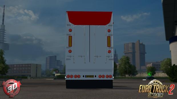 ETS2 4 Axled Bodex Trailer Model