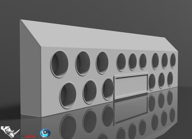 3D Backbumper MultiLights