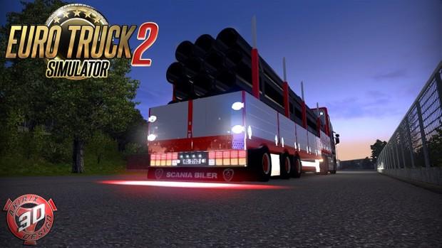 ETS2 Halling Frakt Trailer Model