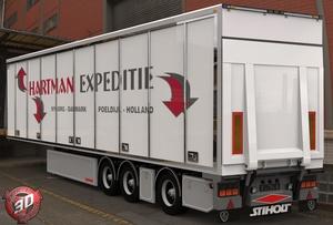 3D Hartman Expeditie Trailer Model