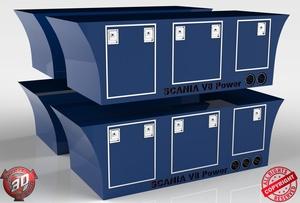 3D Custom Scania Sideboxes Pack