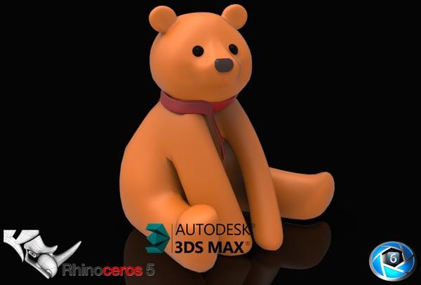 3D Teddybear Model