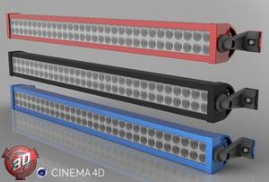 3D LedBar Model
