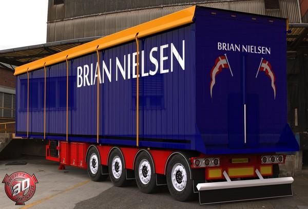3D Brian Nielsen Trailer Model