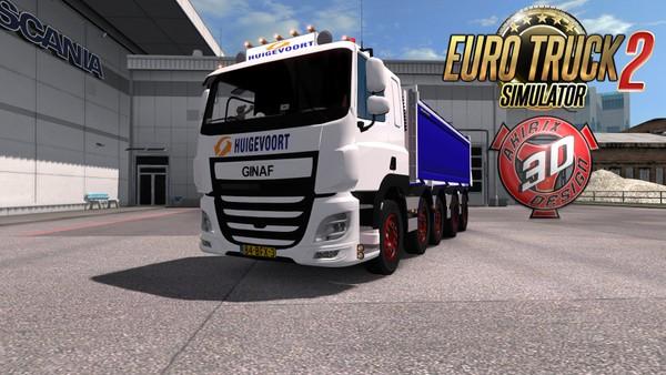 ETS2 Ginaf 10x4 Truck