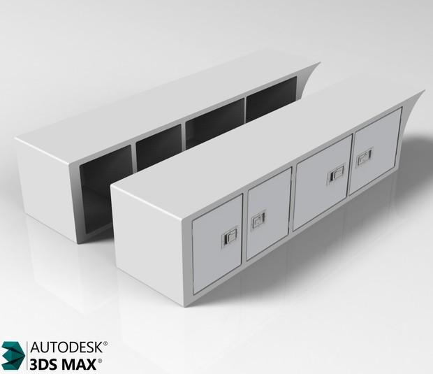 3D Sideboxes Model