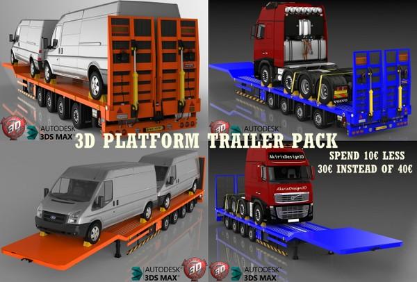 3D Platform trailer pack offer