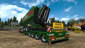 ETS2 4 Axled Doll Trailer With Tipper Trailer Load