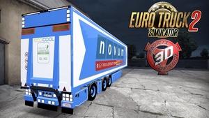 ETS2 Novum FRC Trailer Model
