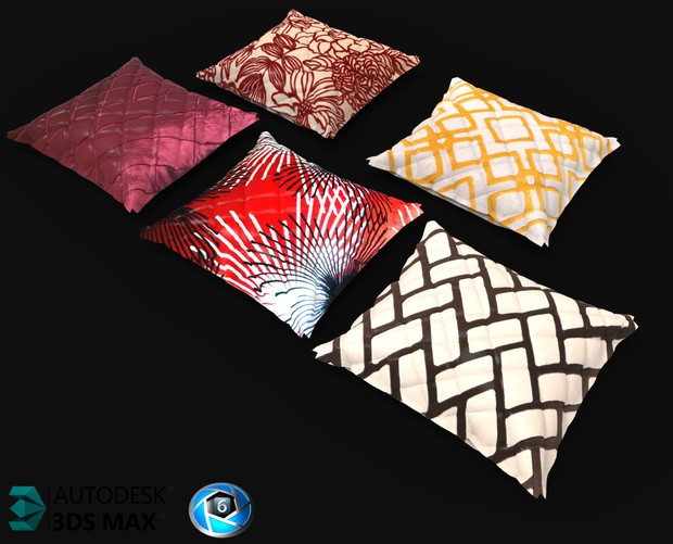 3D Set Of Pillows