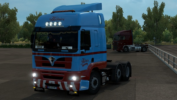 ETS2 Foden Alpha 3000 6×2 Midlift Truck Model