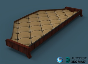 3D Table With Leather For Daf