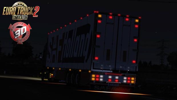 ETS2 Narko FRC Trailer Model