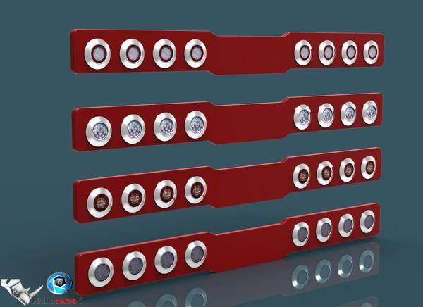 3D Tail Lights V4 pack