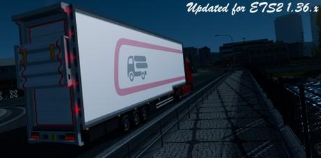 ETS2 1.36.x DoubleDeck FRC Trailer