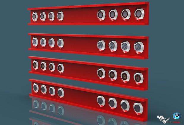 3D Tail Lights V1 pack