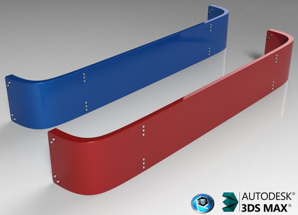 3D Visor Model