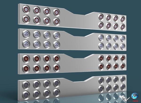 3D Tail Lights V5 pack