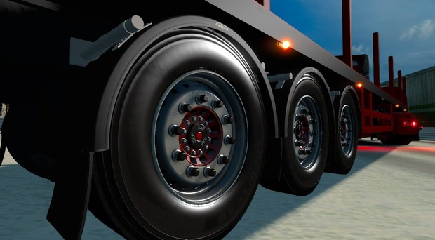 Coil Transport Trailer model ETS2