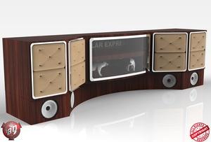 3D Polar Express Cabinets V2