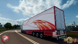 ETS2 Chereau Trailer Model