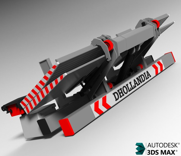 3D Dhollandia Tail Lift Model