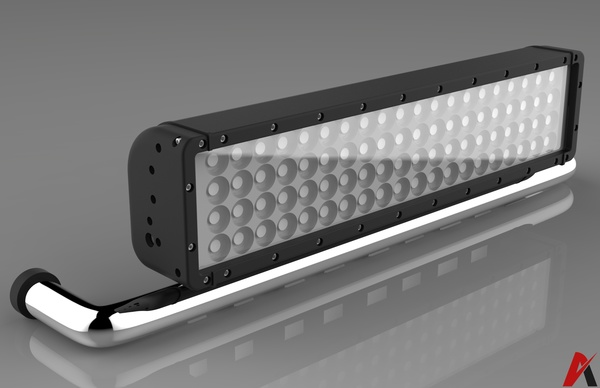 3D Led Board Panel Model