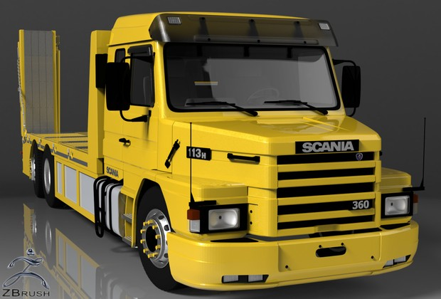 3D Scania 113H Recovery Truck