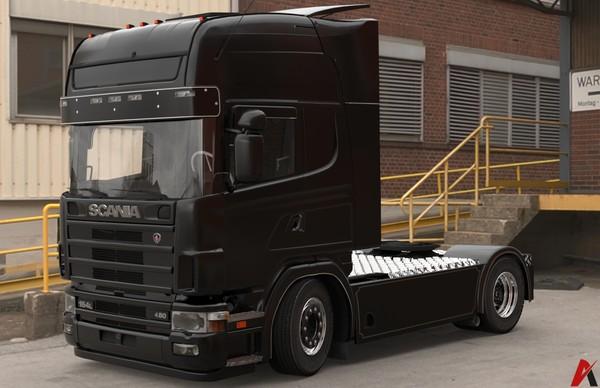 3D Scania 164L 480 4×2 Model