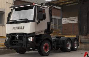 3D Renault K Range 6×2 Truck Model