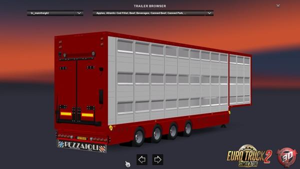 ETS2 4 Axled Pezzaioli Trailer