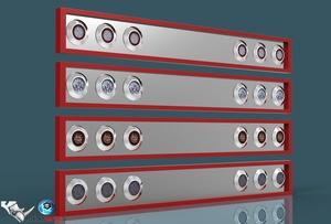 3D Tail Lights V2 pack