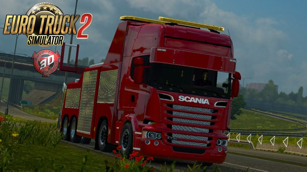 ETS2 Scania R730 Streamline Recovery