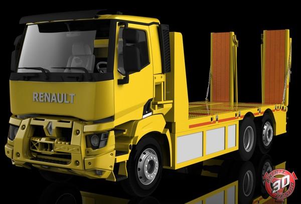 3D Renault K Range Recovery Unit