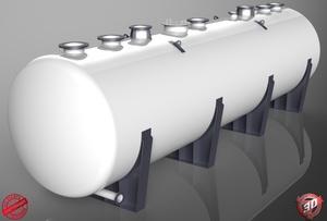 3D Tanker Load Model
