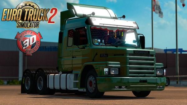 ETS2 Scania T 113H Truck Model