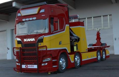 3D Scania NextGen S730 Recovery SWS
