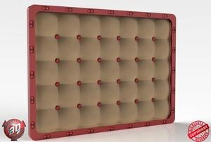 3D Custom Leather Panel