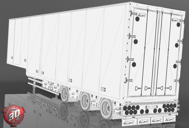 3D Ekeri Trailer Model V2
