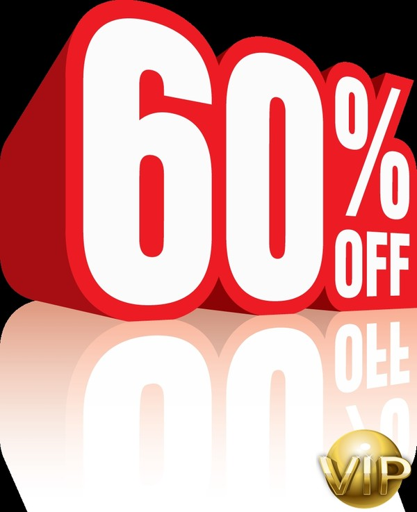 60% Discount Code & VIP Card